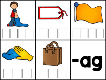 Word Family Task Cards | Write the Room Activity | Short A