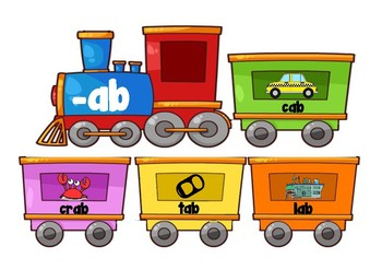 Word Family Train