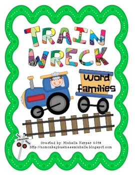 Word Family Train Wreck Bundle