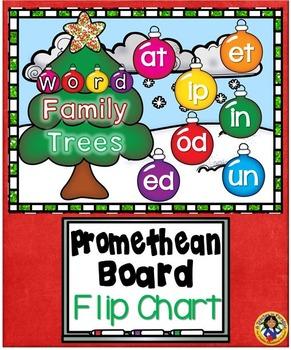word family trees promethean board flip chart by dp sharpe tpt