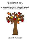 Word Family Trees Activity