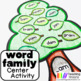 Word Family Center Activities