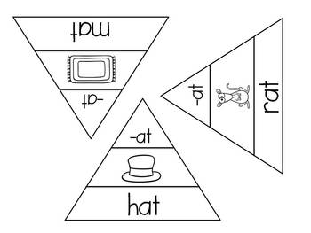 Word Family Triangles