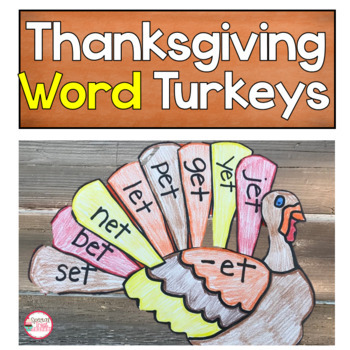 Word Family Turkey