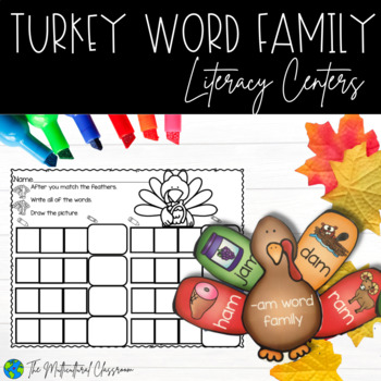 Word Family Turkey Center