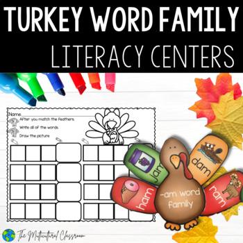 Word Family Turkey Center