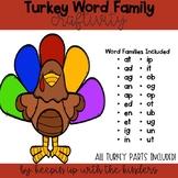 Word Family Turkeys
