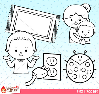 Word Family UG Clip Art