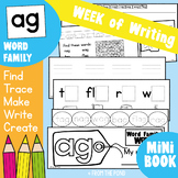 Word Family Week - ag Words - Printable Writing Book