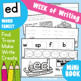 Word Family Week - ed Words - Printable Workbook