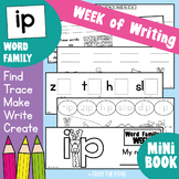 Word Families Workbook Activities for ip