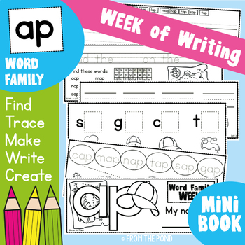 Word Family Week of Writing - ap Family