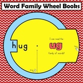 Word Family Wheel Books:  Short Vowels