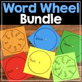Word Family Word Wheel & Making Words Wheel {Bundle}