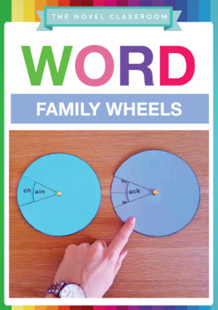 24 Word Family Wheels - Spelling Learning Aid