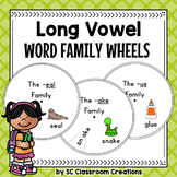 Word Family Wheels (long vowels)