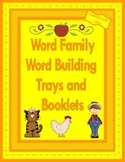 Word Family Word Building Trays and Booklets