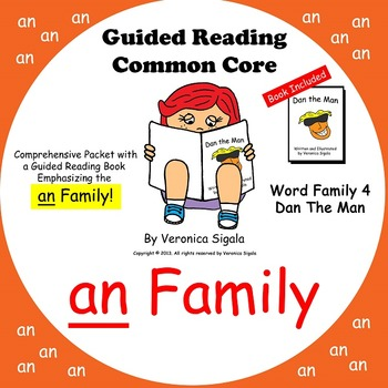 Word Family, Word Family Strategies, Word Family Guided Reading Book an Family