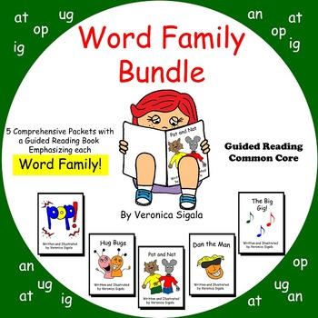 Word Family, Word Family Strategies, 5 word Families Word