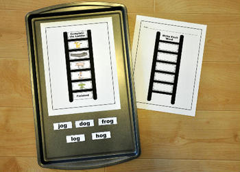 "Word Family Activities Pack--""Word Ladders"""