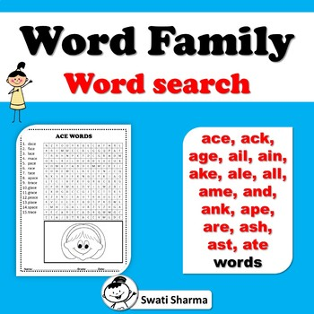 A Word Family Word Search