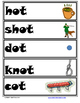 Word Family Word Wall Cards for OT Family with Pictures