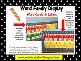 First Grade Word Family Rings