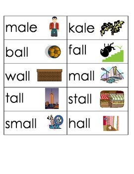 Word Family Word Wall Template