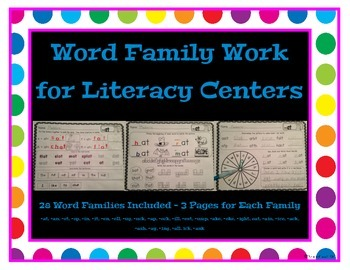 Word Family - Word Work