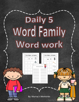 Word Family Word Work