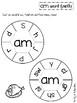 Word Family Word Work (CVC & CVCC): am, an, ap