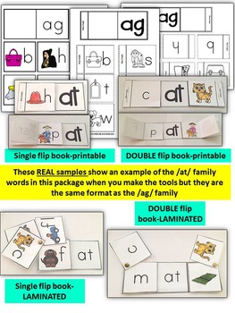 Word Family Word Work- Short A- AG Word Family Literacy Packet