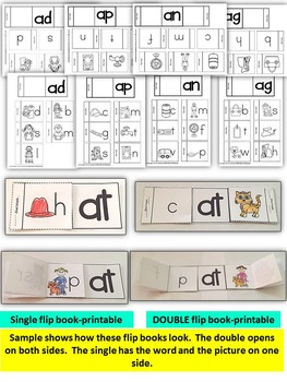 Word Family Word Work- Short A: AT, AN, AG, AP & AD BUNDLE PACK NO PREP