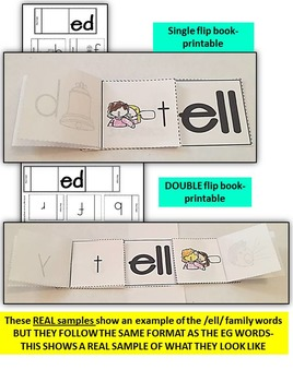 Word Family Word Work- Short E- ED Word Family NO PREP Literacy Packet