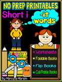 Word Family Word Work- Short I- IT Word Family NO PREP Literacy Packet