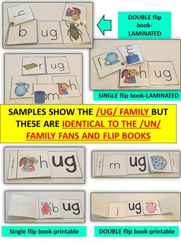 Word Family Word Work- Short U- UB Word Family Literacy Packet