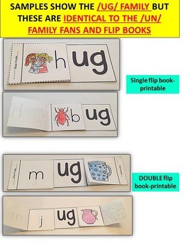 Word Family Word Work- Short U- UB Word Family NO PREP Literacy Packet
