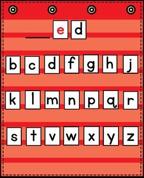 Word Family Words - Short e