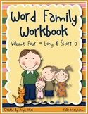 Word Family Work - Short and Long O