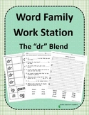 Word Family Work Stations: The -dr Blend