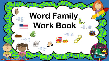 Word Family Workbook/ Interactive Notebook