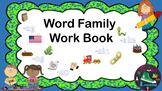Word Family Workbook/ Interactive Notebook