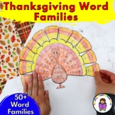 Thanksgiving Word Family Book