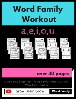 Word Family Workout -- over 20 word families