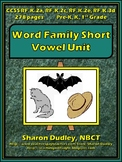 Word Family Short Vowel Unit