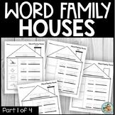 Word Family Kindergarten Worksheets Part 1