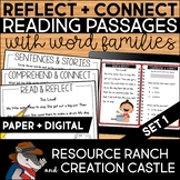 Word Family Worksheets Word Family Fish Bowls