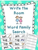 Word Family Write The Room