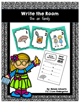 Write the Room: an Word Family