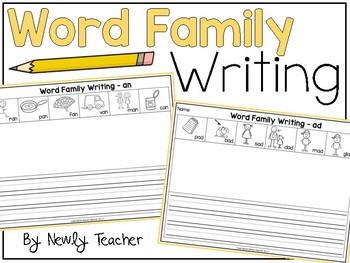 Word Family Writing